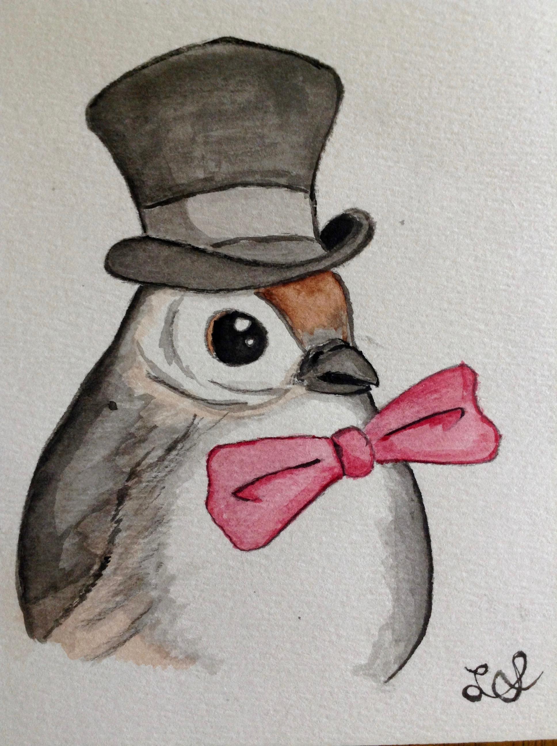 A chickadee, Sir.