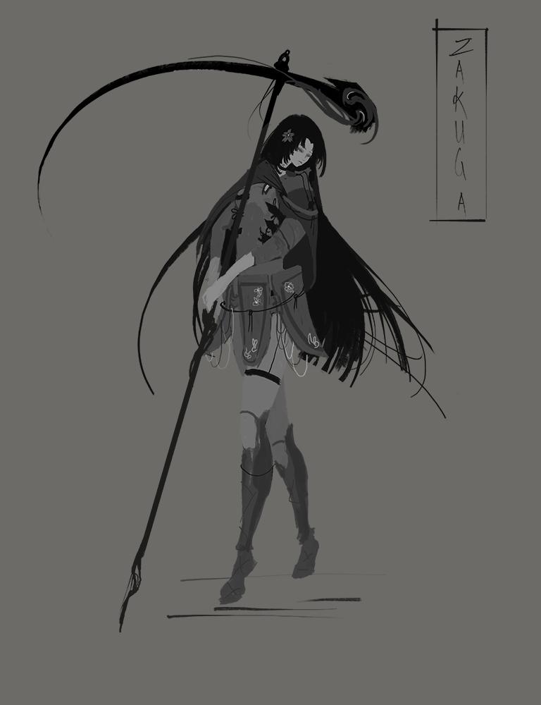 Female lancer