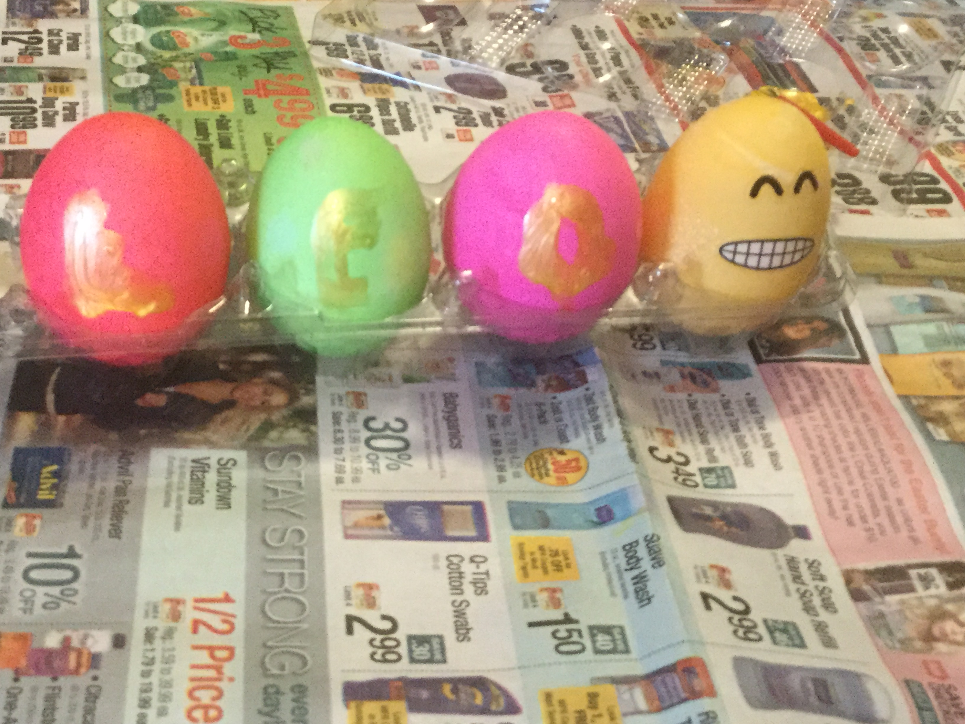 My name, in Easter eggs