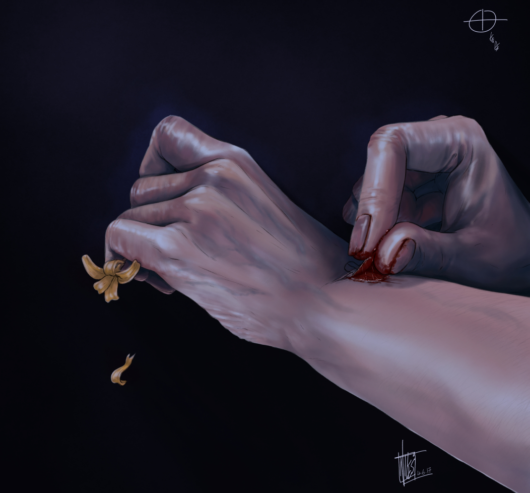 Hand Study/Take 2