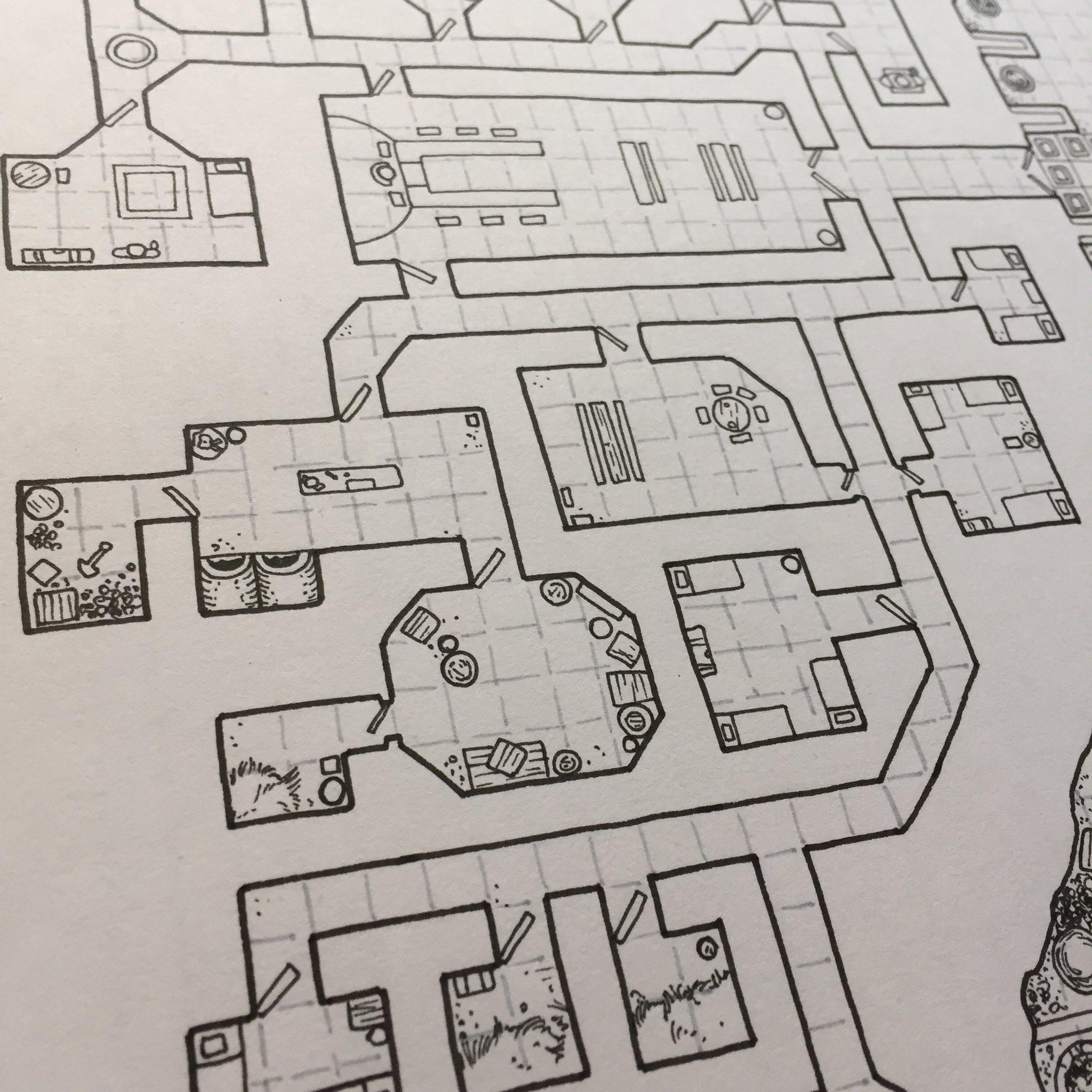 Dwarven Fortress Map - Sneak Peek