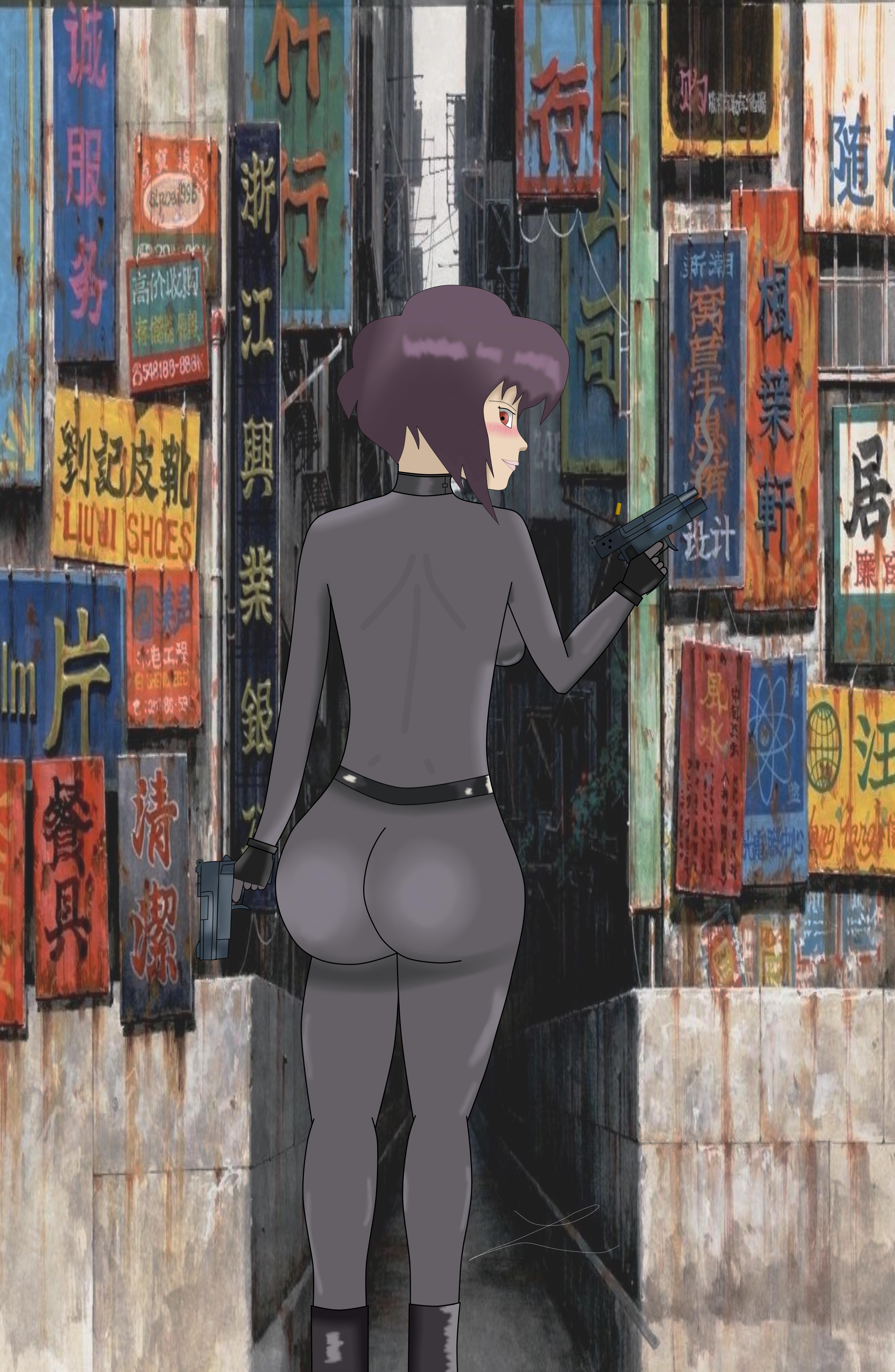 (MAYOR) Motoko Kusanagi