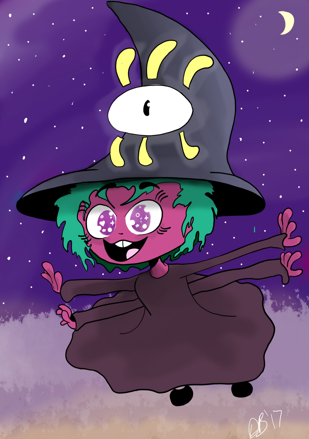 Fly on Little Witch