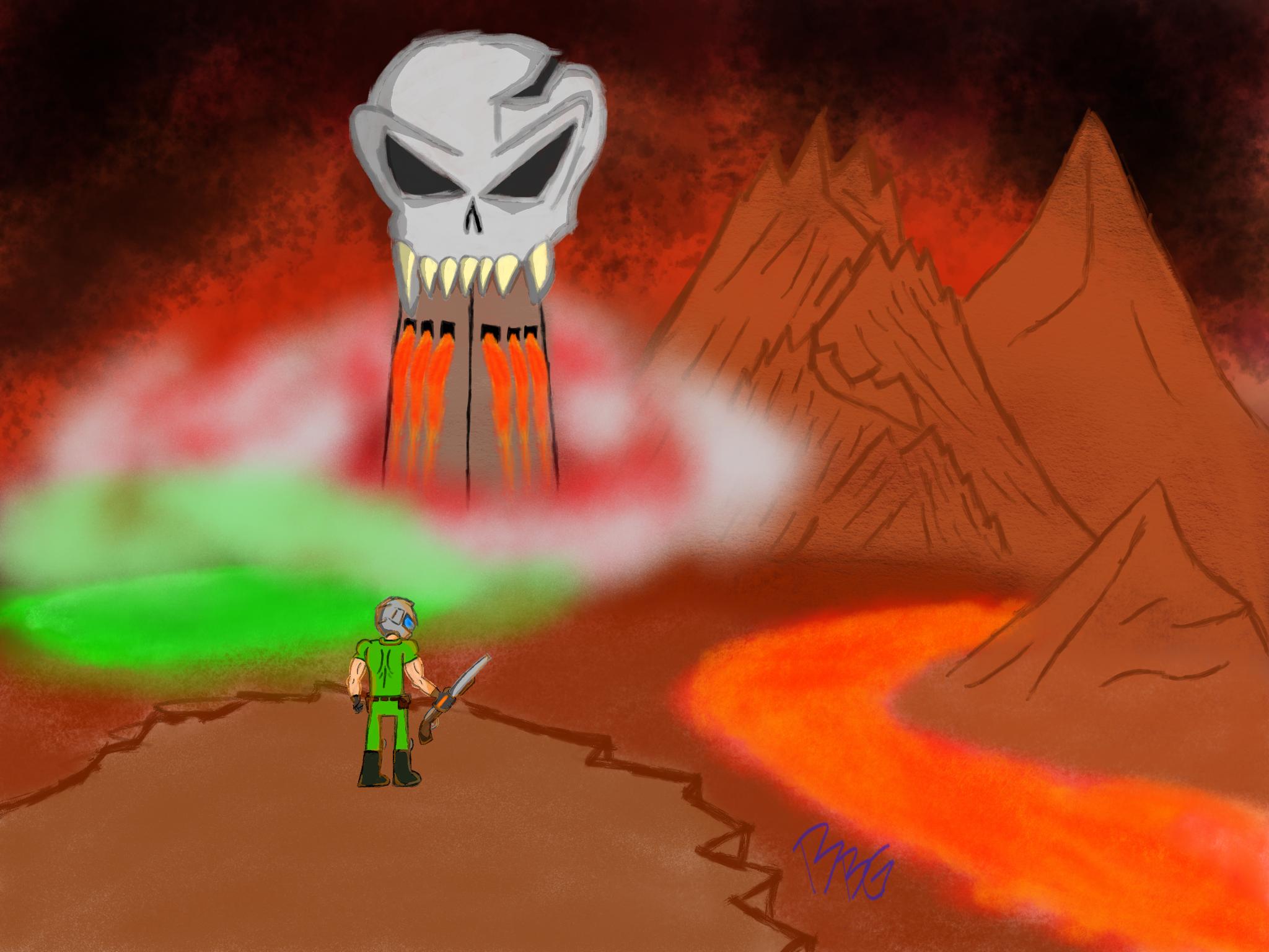 Gazing Upon Hell- DOOM