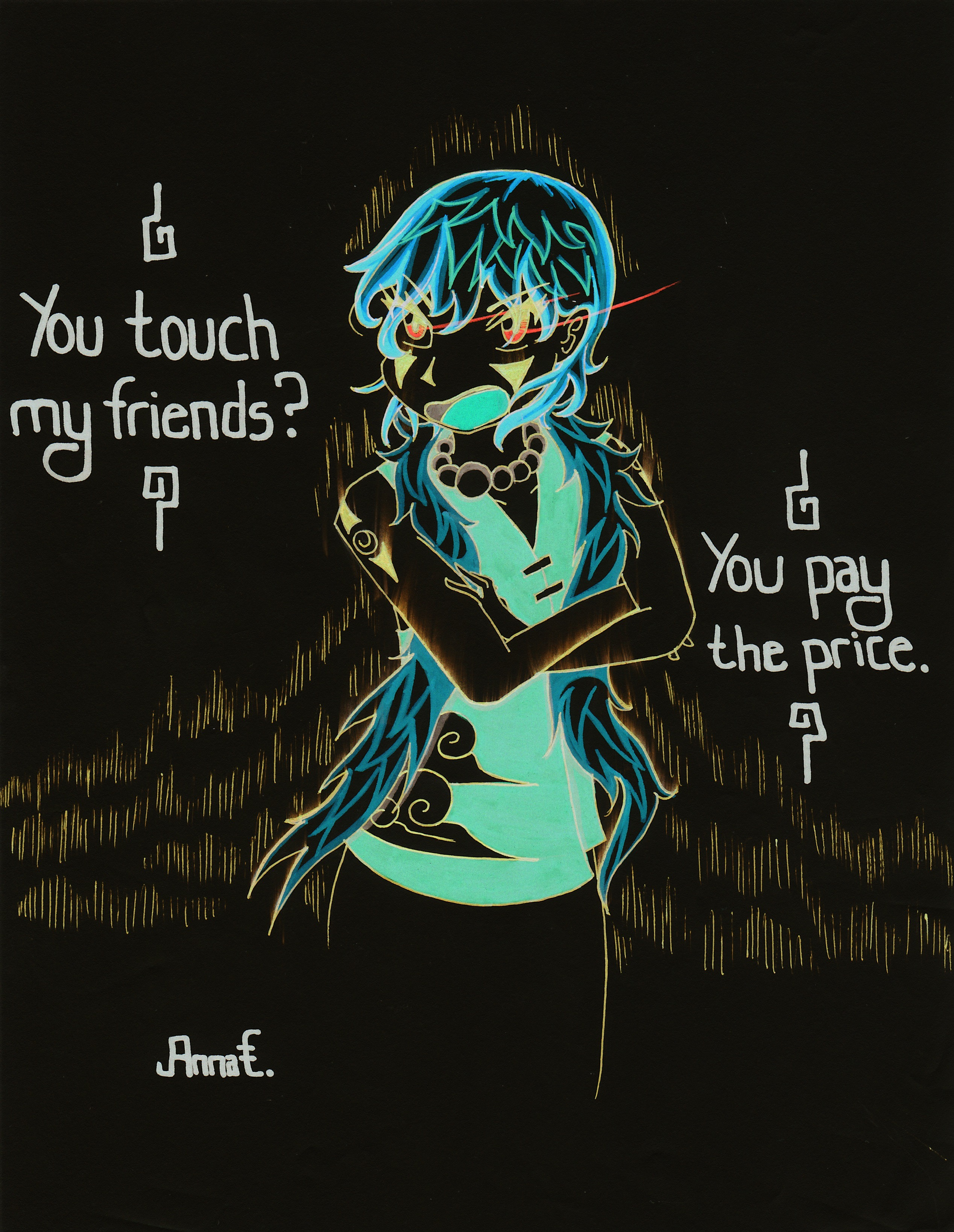 Don't You Touch My Friends