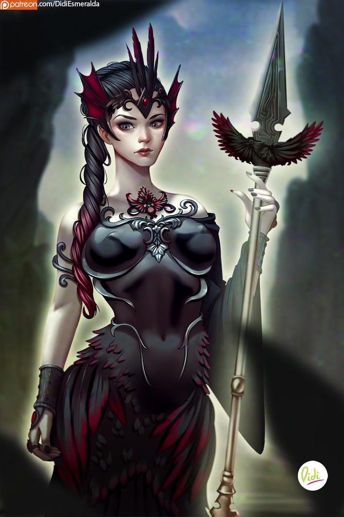 Zeelia Goddess of Death