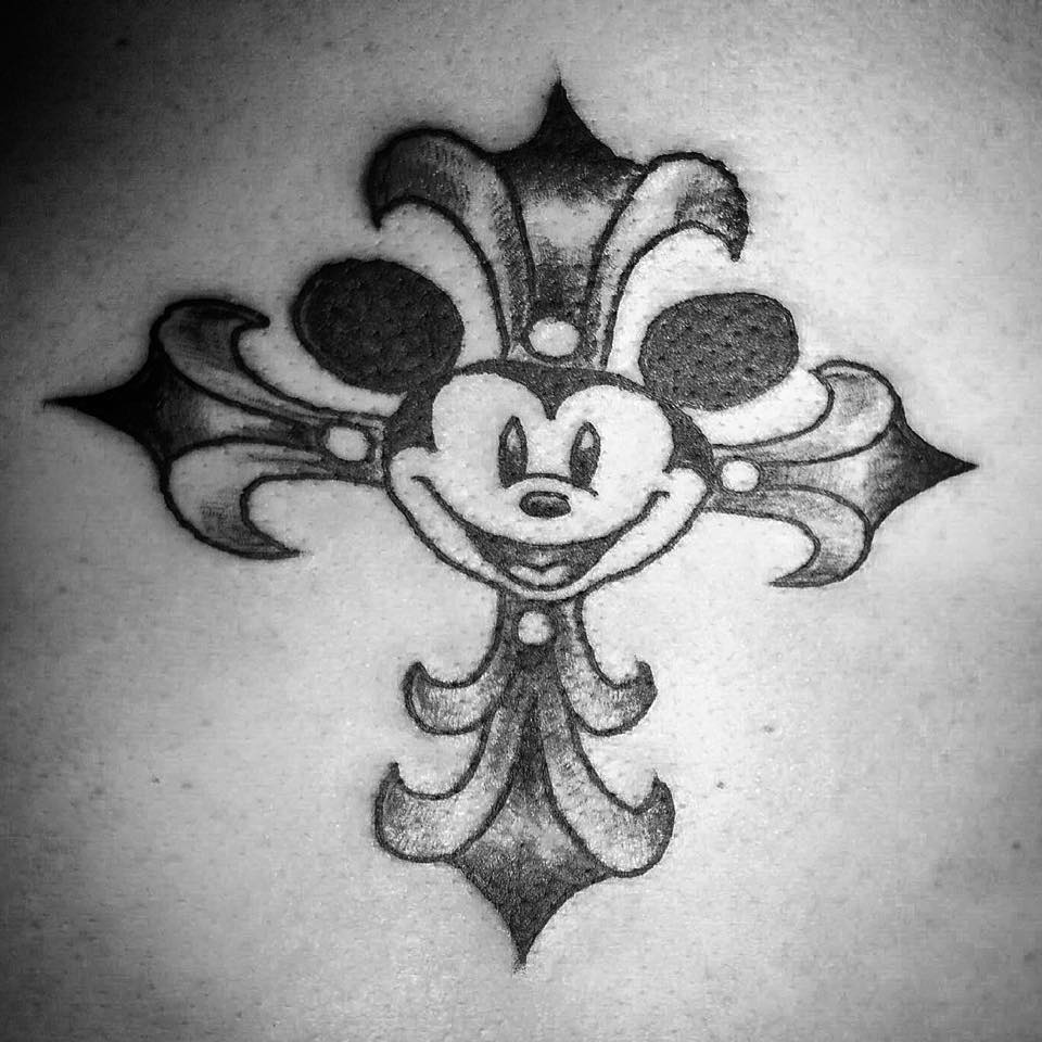 micky mouse died for your sins