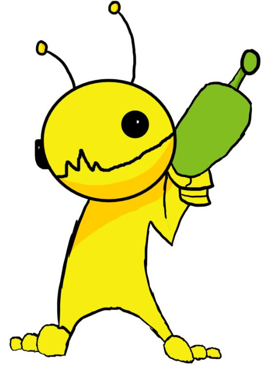 Alien Hominid Fanart Thing
