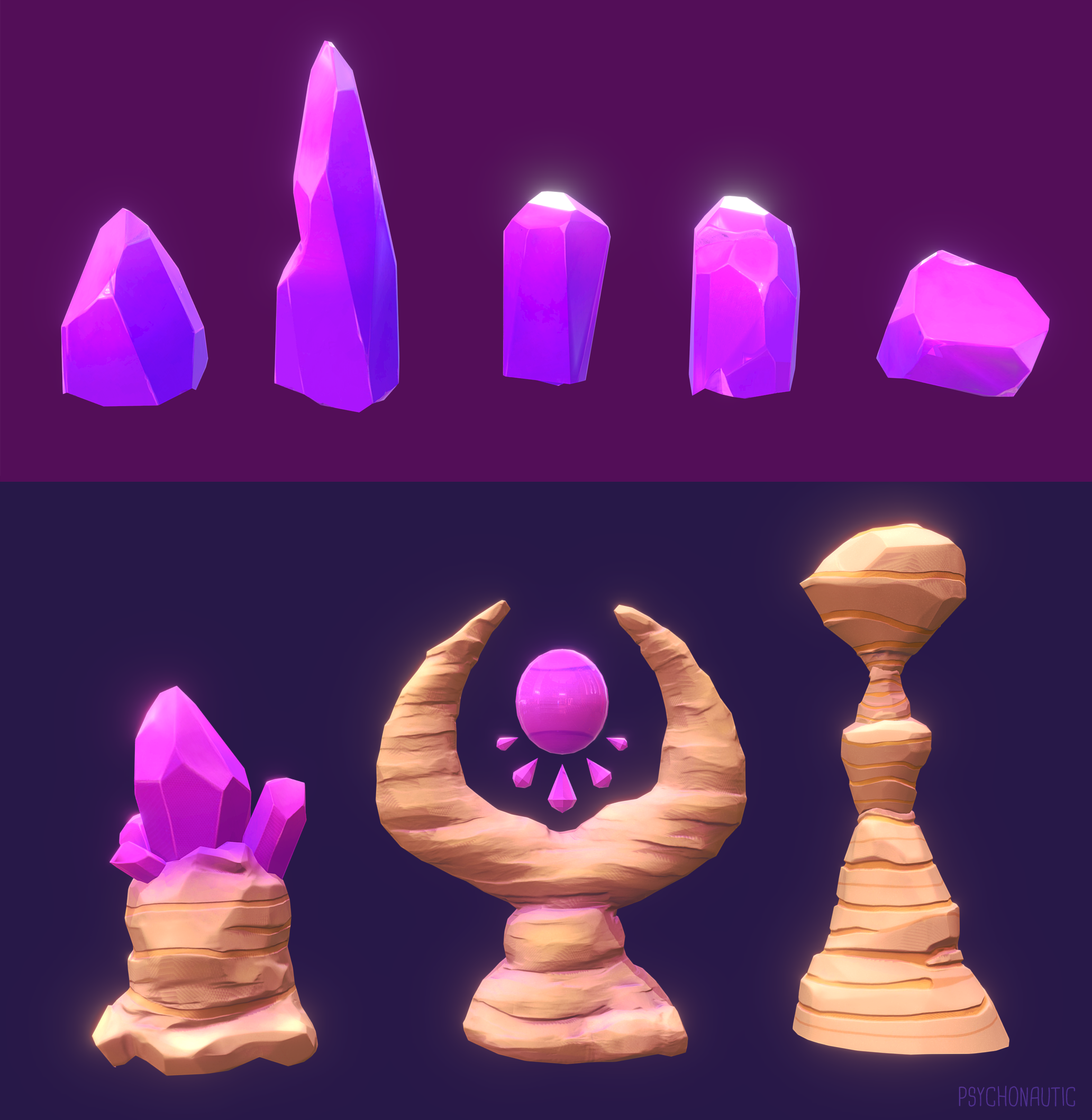 Misc crystals and rocks