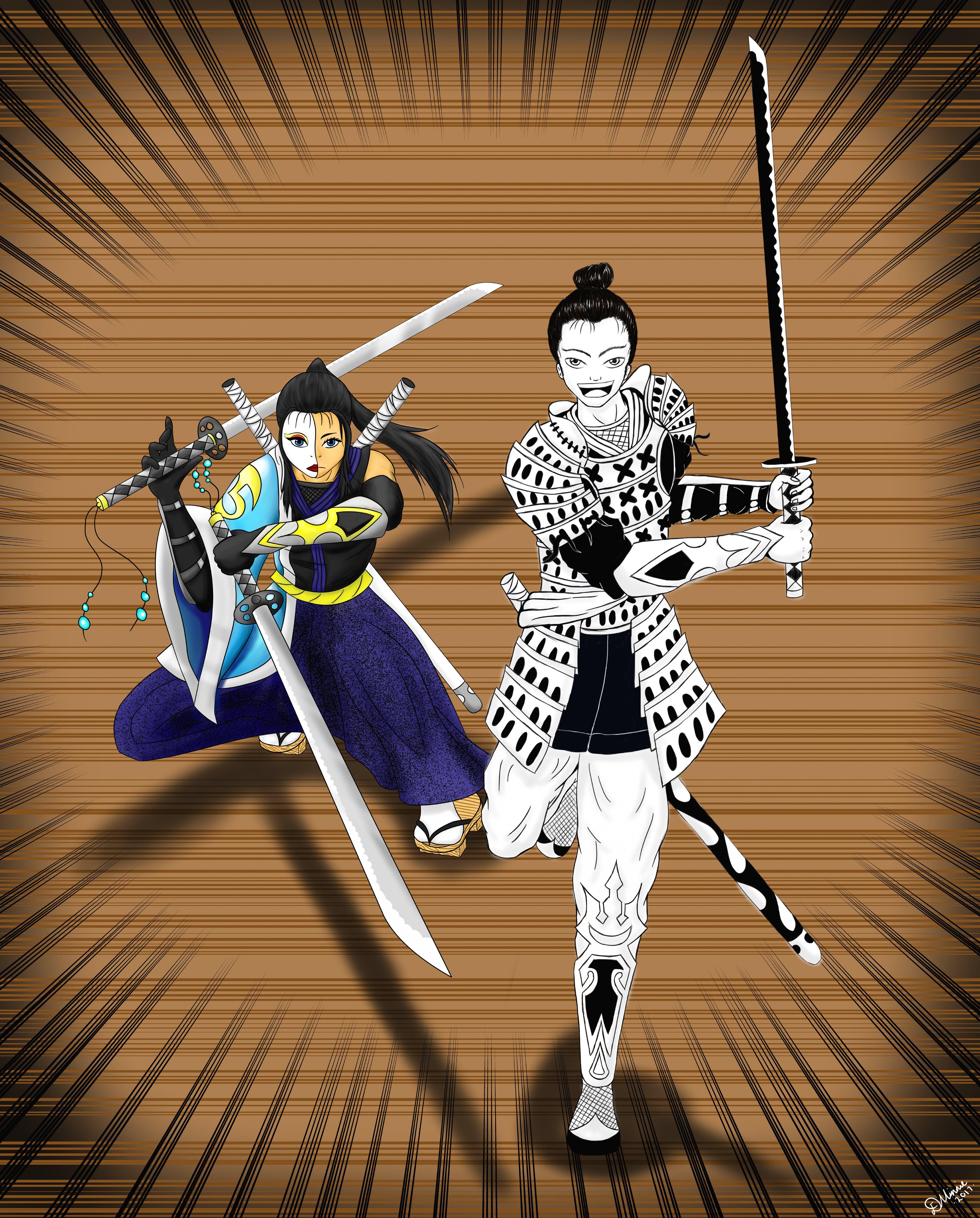 Samurai Team-Up