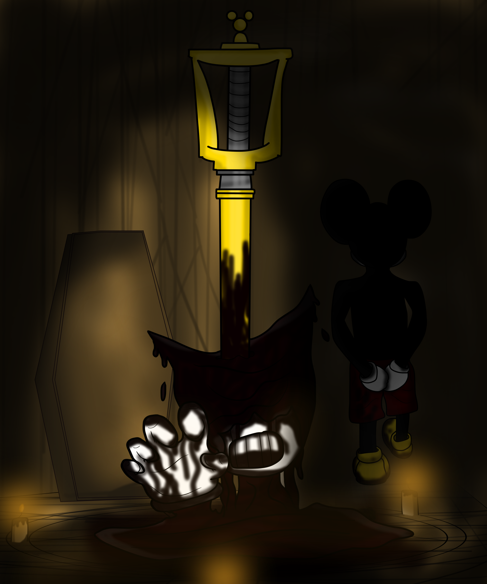 Eliminating The Competition V2 (Bendy And The Ink Machine)