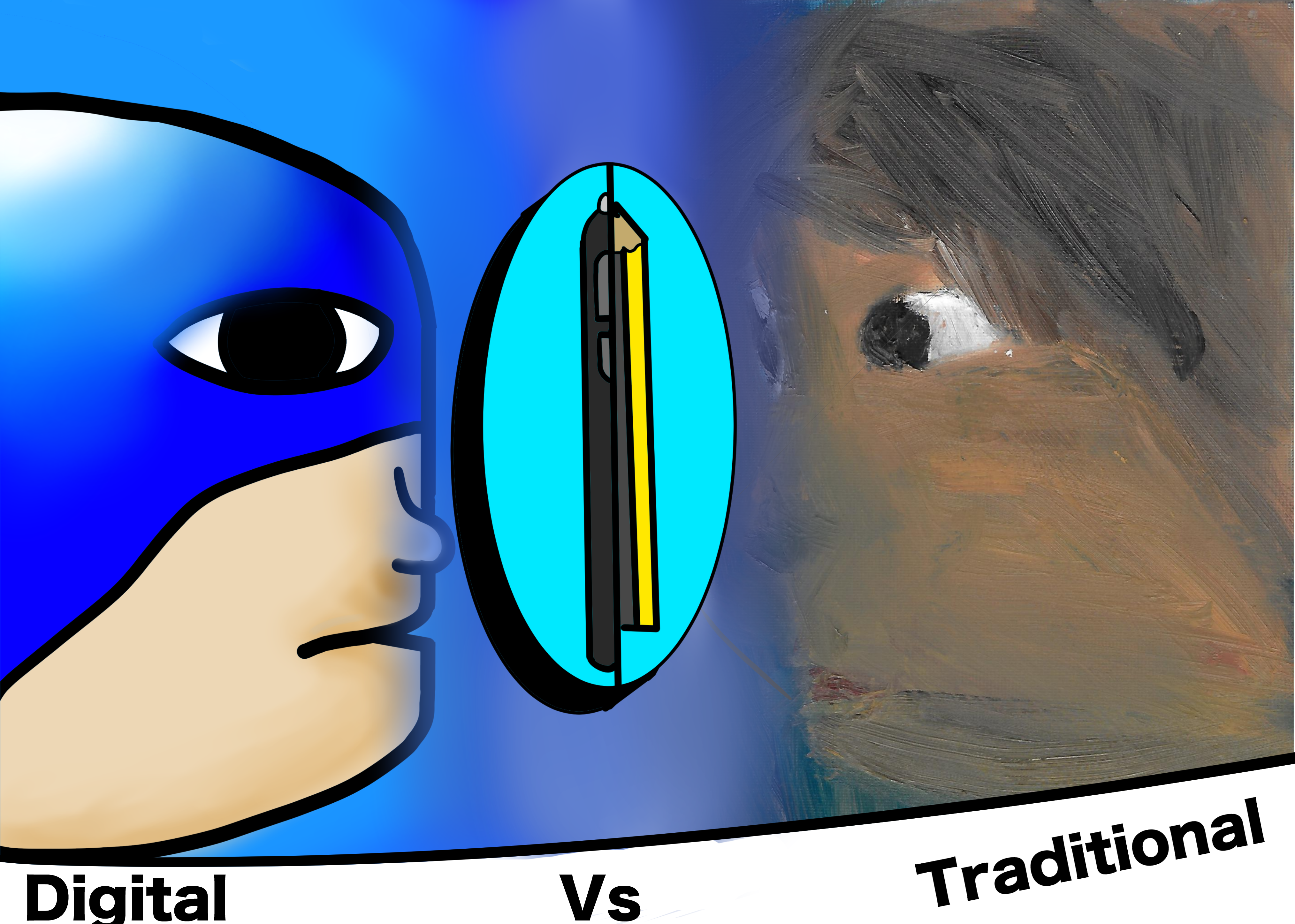 The War of The Art: Digital vs Traditional