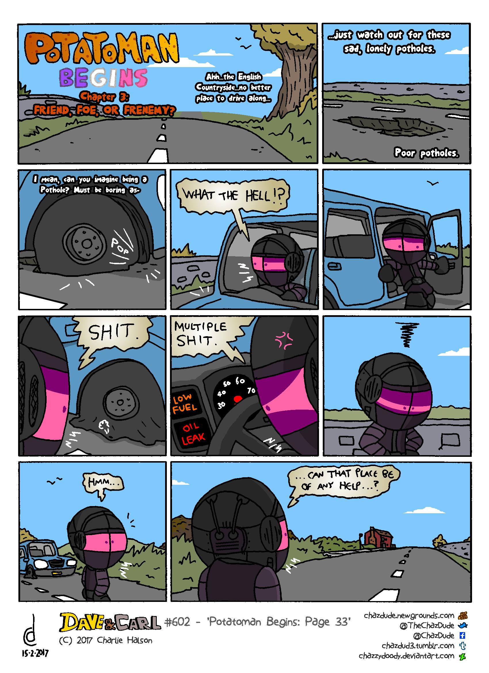 Potatoman Begins: Page 33