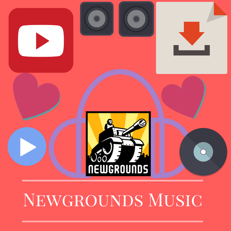 Newgrounds(NG) Music - YouTube Thumbnail
