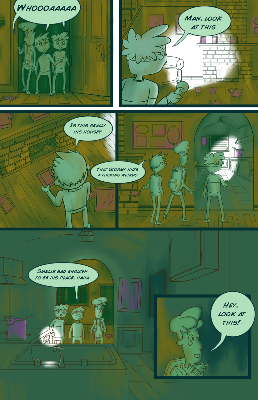 The Mystery of Stormy Dorris - page 2