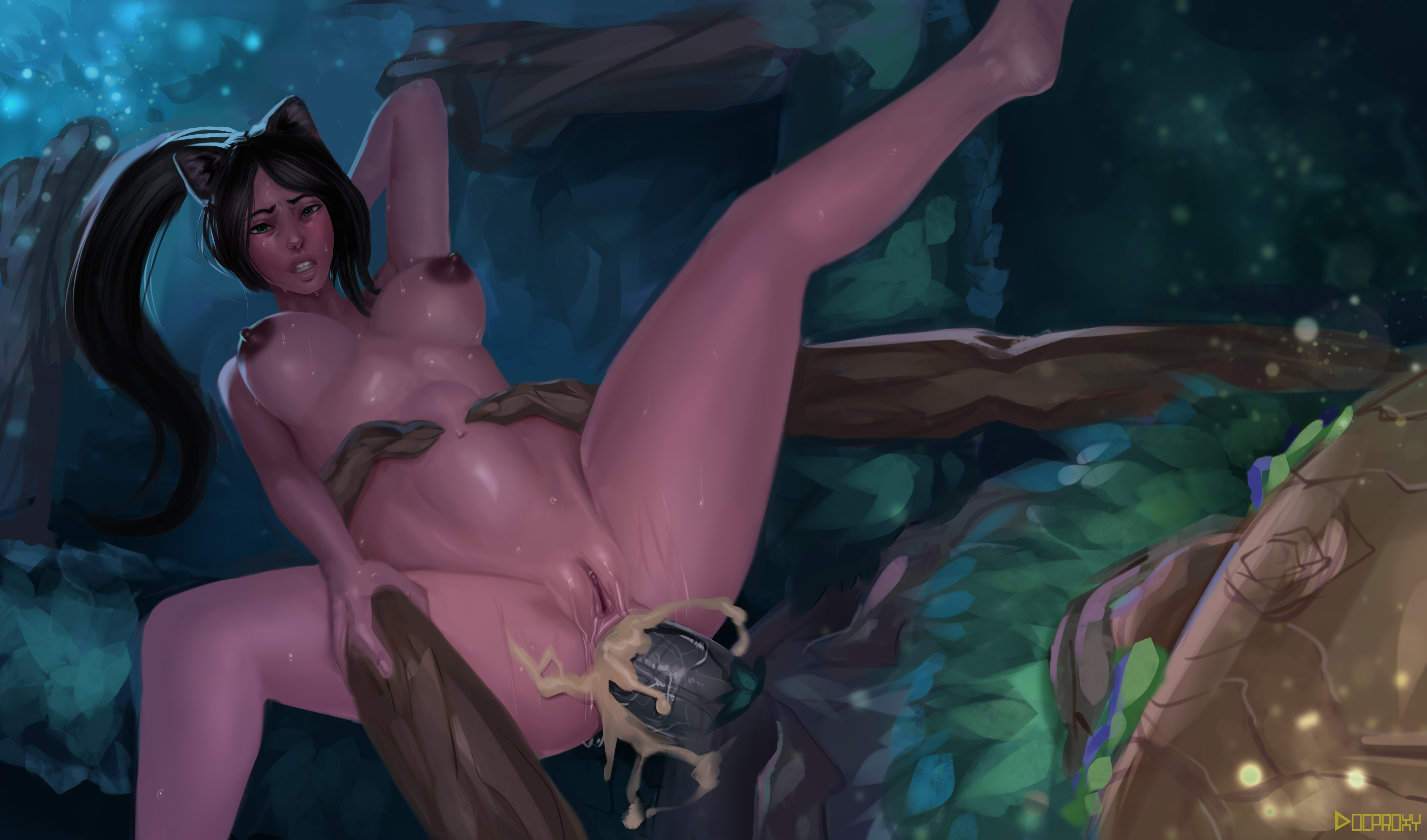Ivern and Nidalee in the Jungle