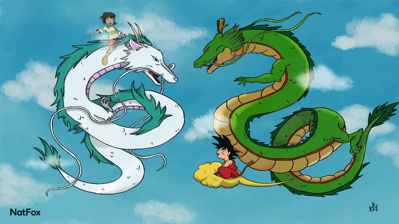 DBZ & Spirited Away Crossover