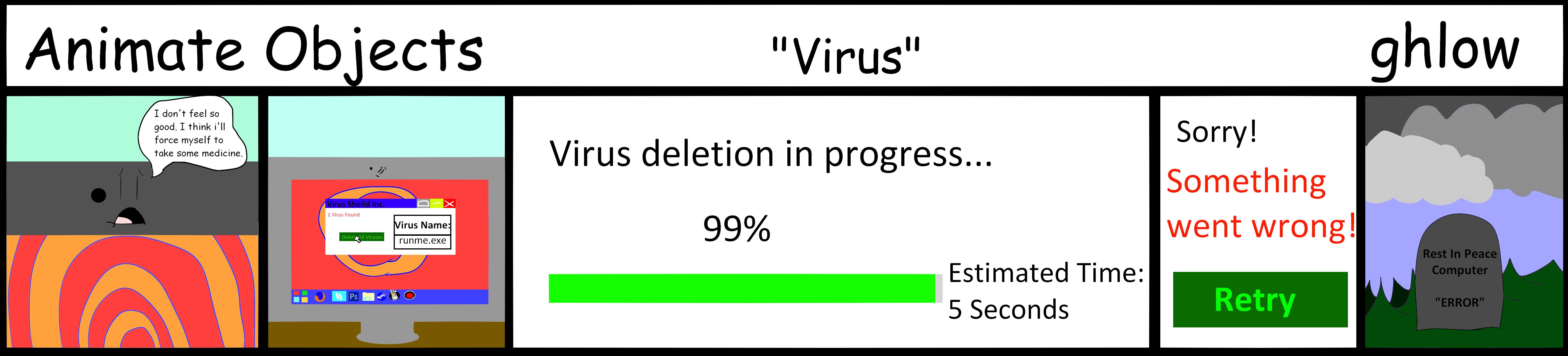 Animate Objects - Virus