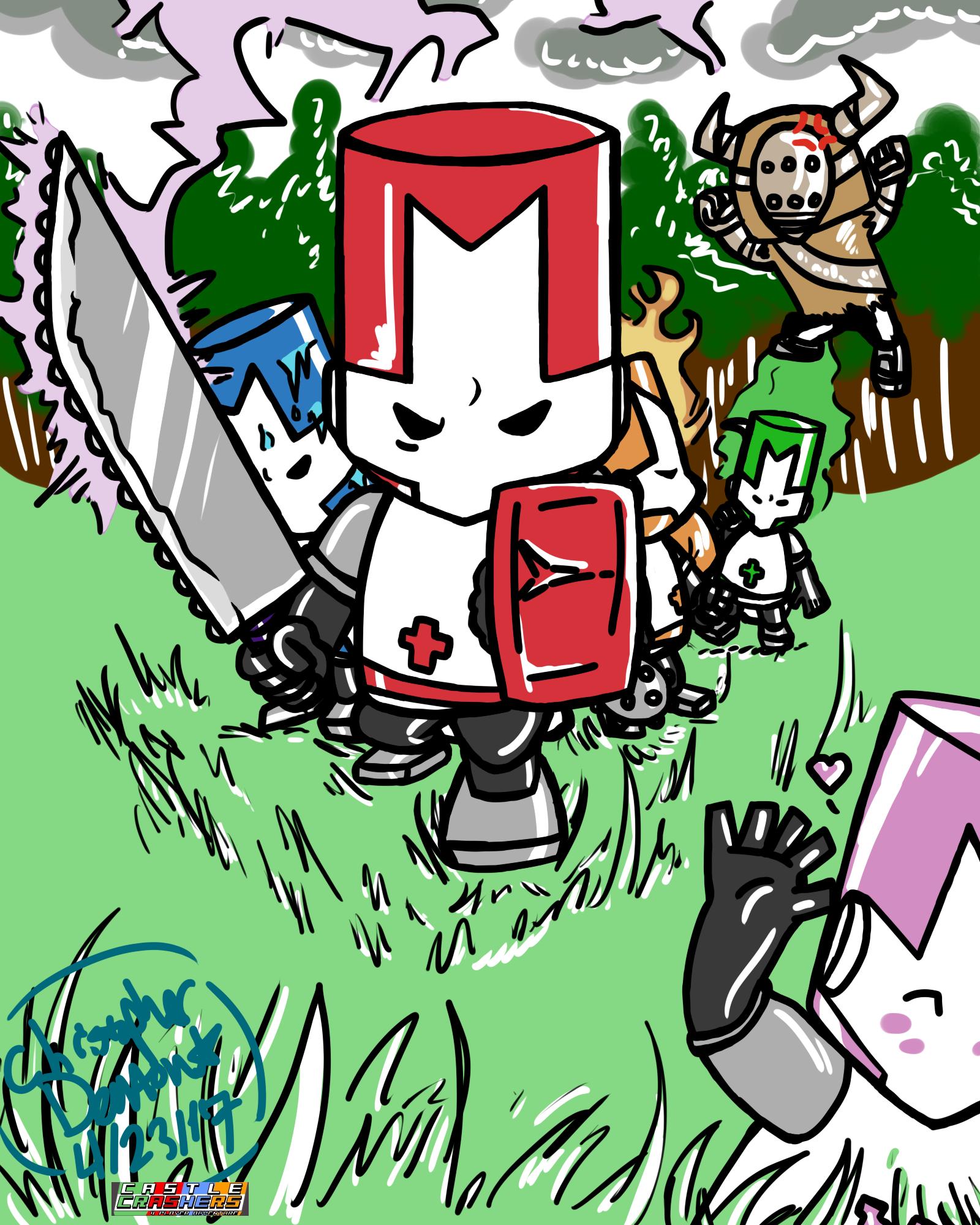 Castle Crashers FanArt