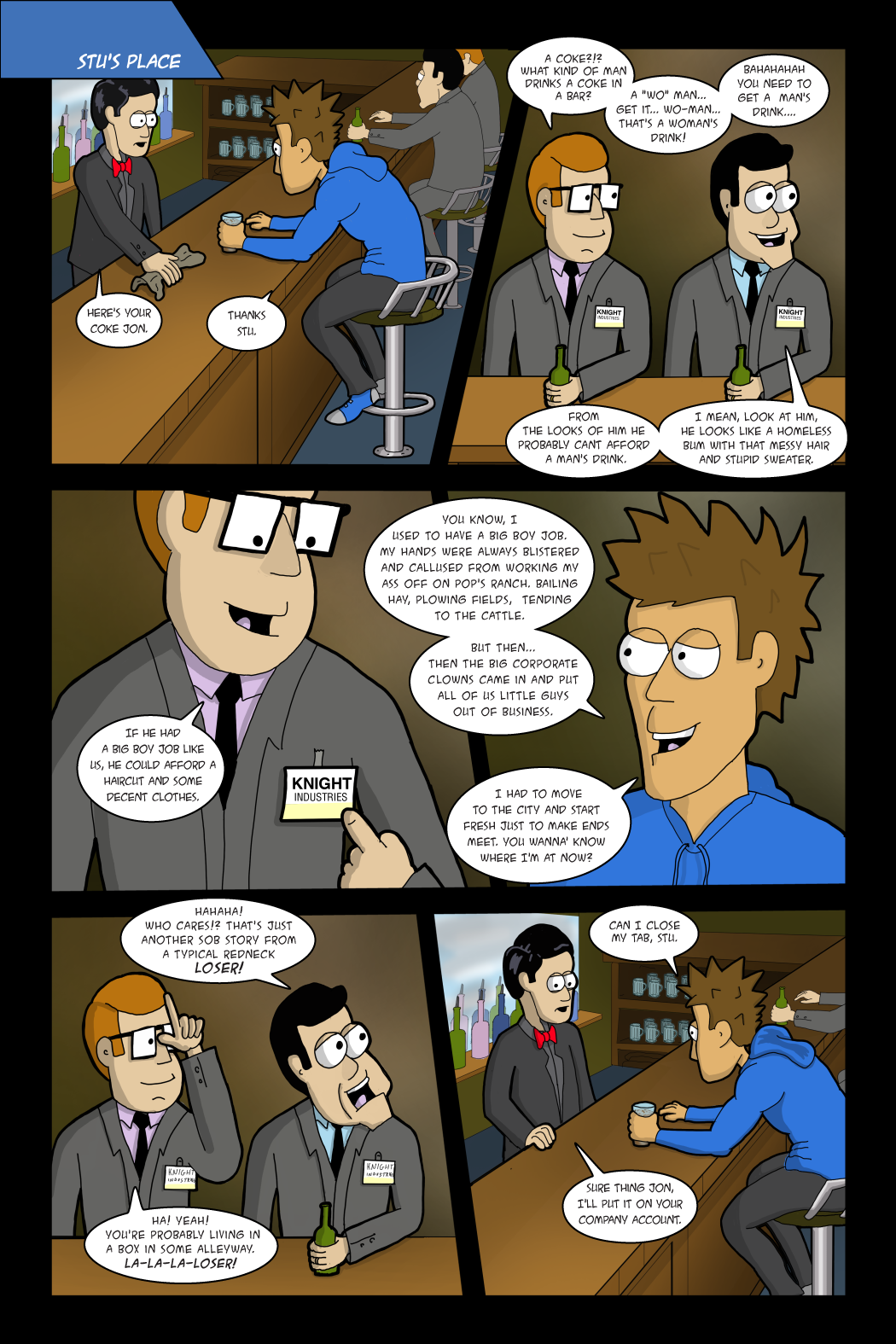 Adventures with Capt'n Heroic: In the Beginning - page 5
