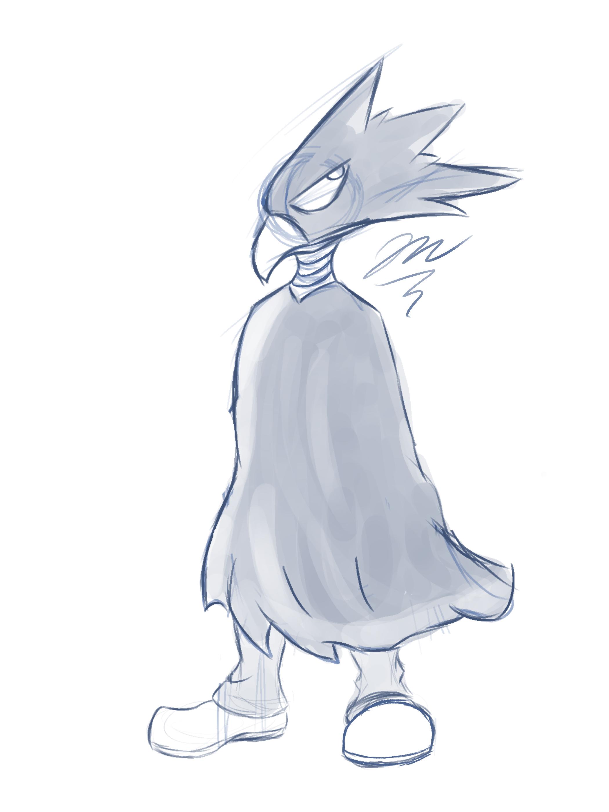 Crow guy