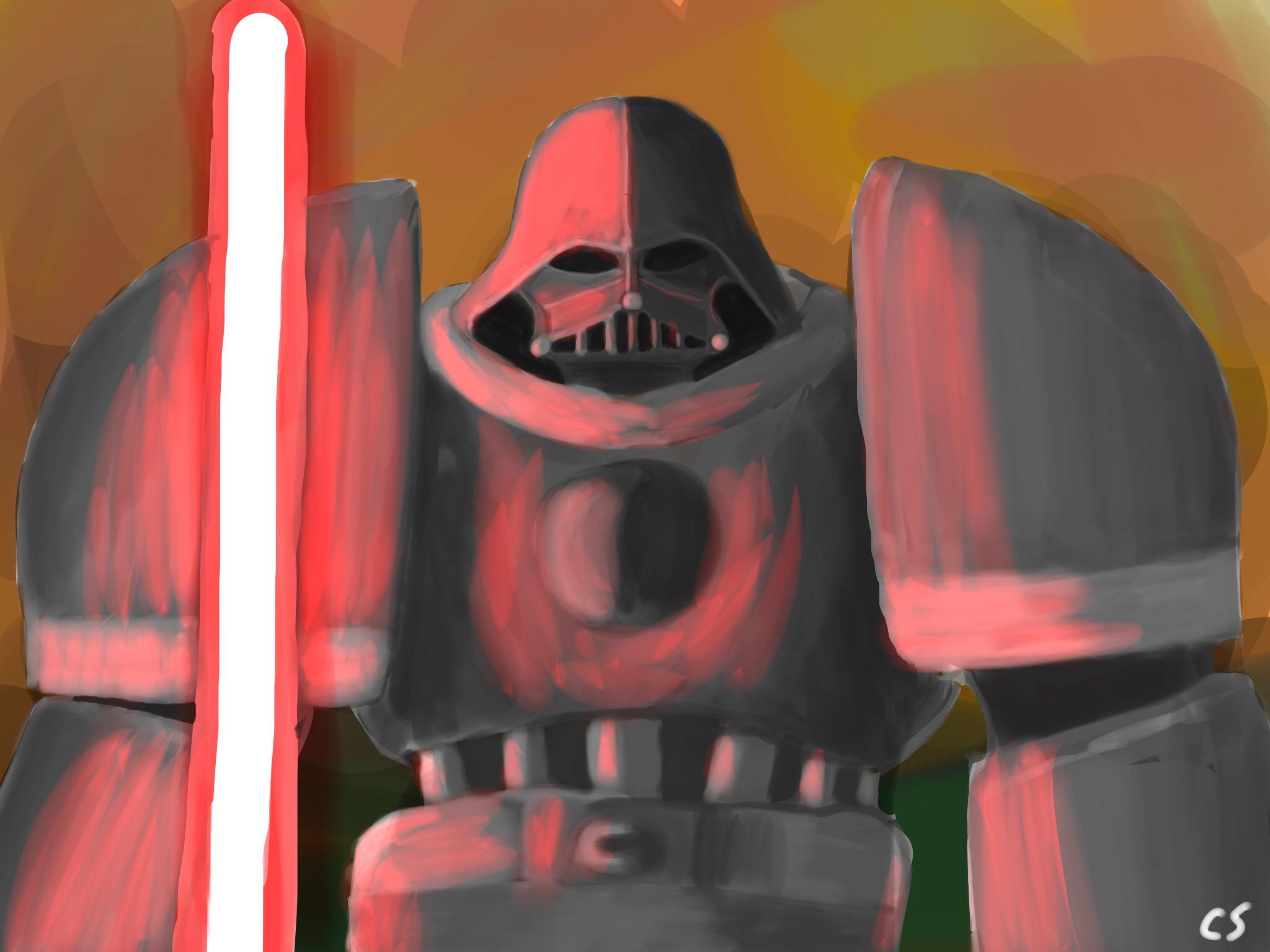 Vader Marine Speedpaint