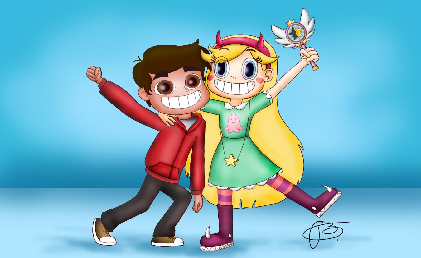 Marco Diaz & Star Butterfly