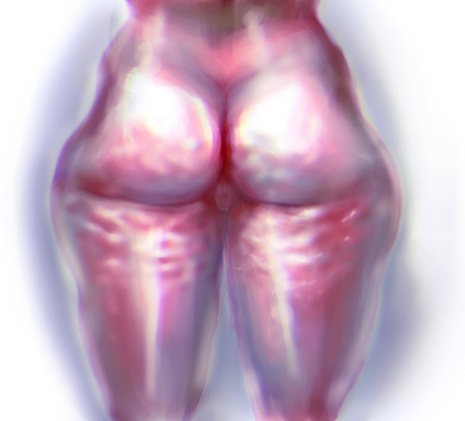trippy butt