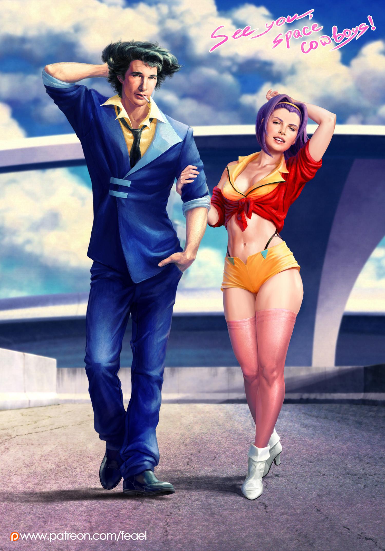 Faye and Spike