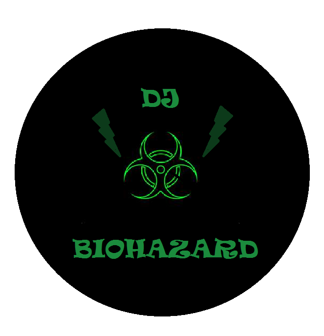 Dj biohazard logo