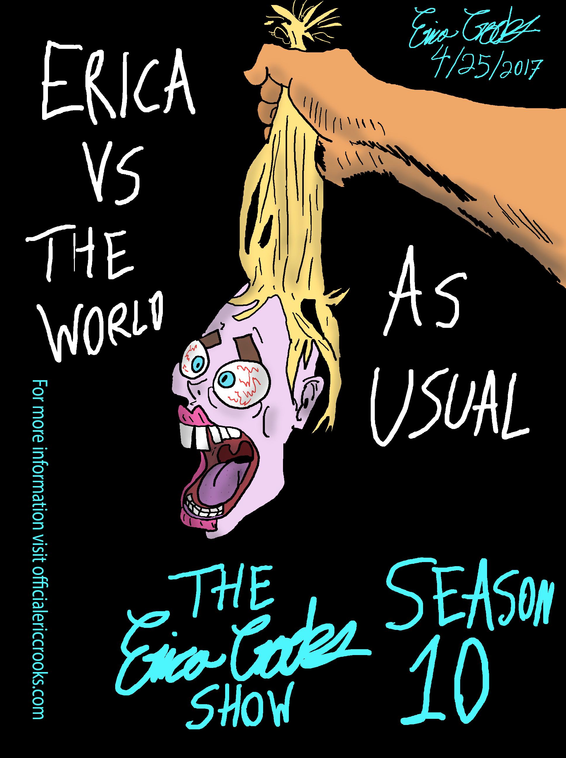 The Erica Crooks Show Season 10 Promo Art ( 2017 )