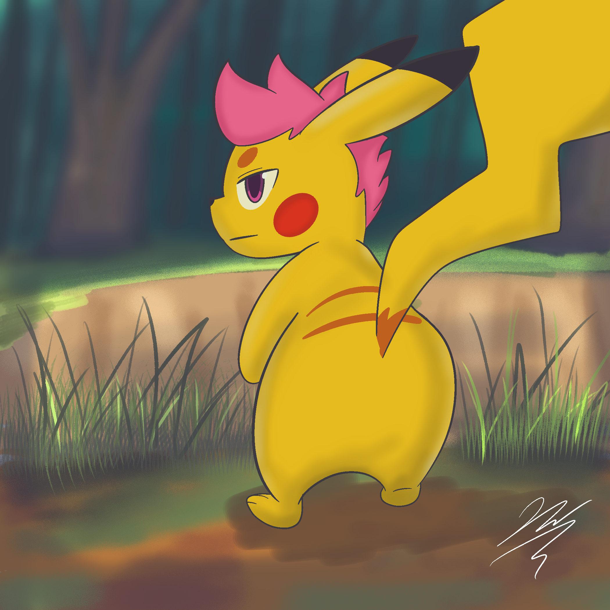 What what pika butt