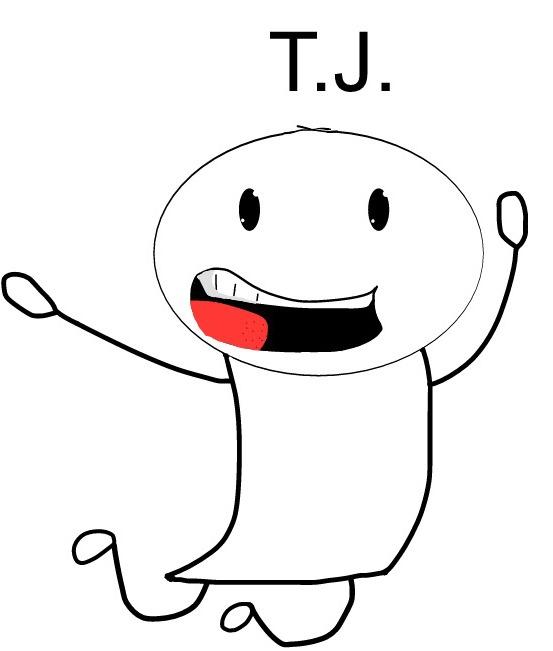 T.J. comic character