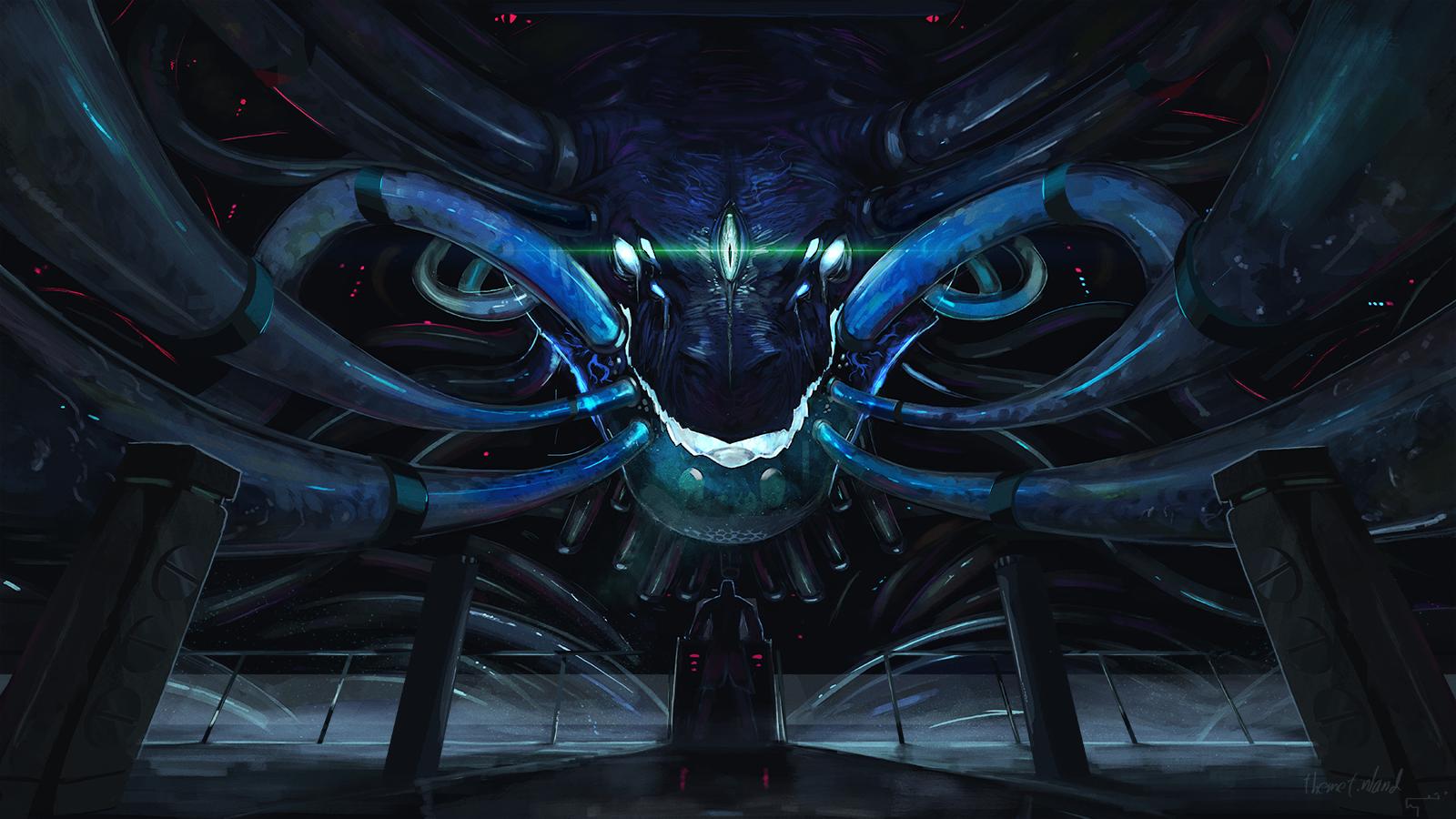 Bio mechanical God