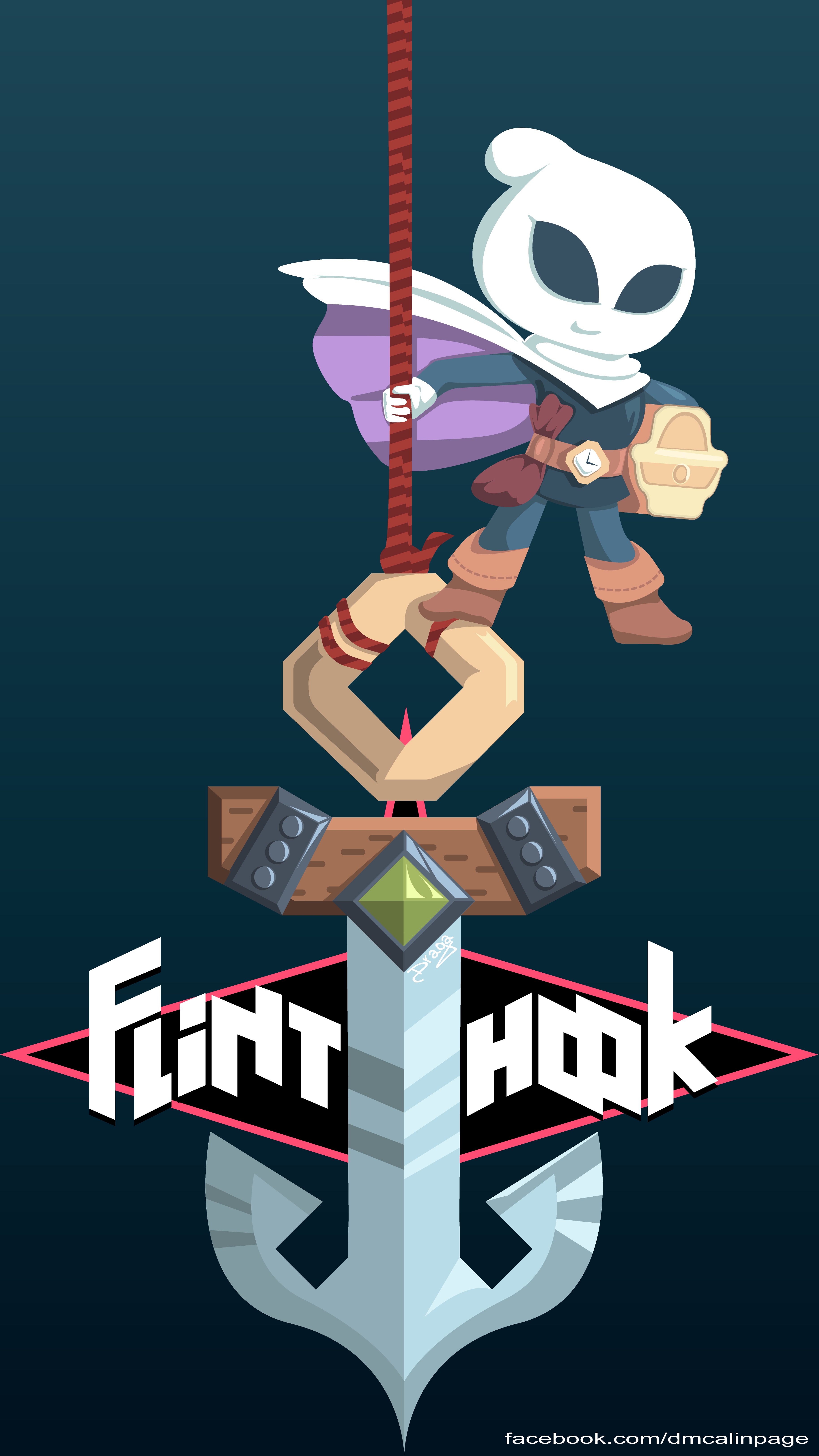 Flinthook Illustration