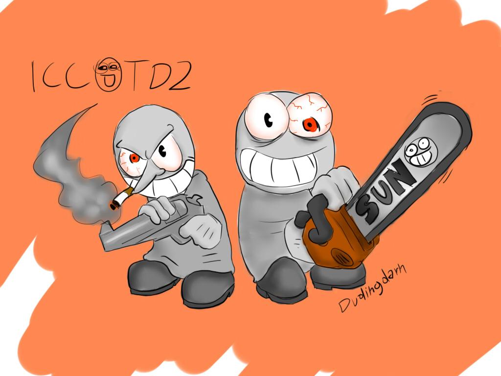 Digital Sketch #2: Bad Thugs