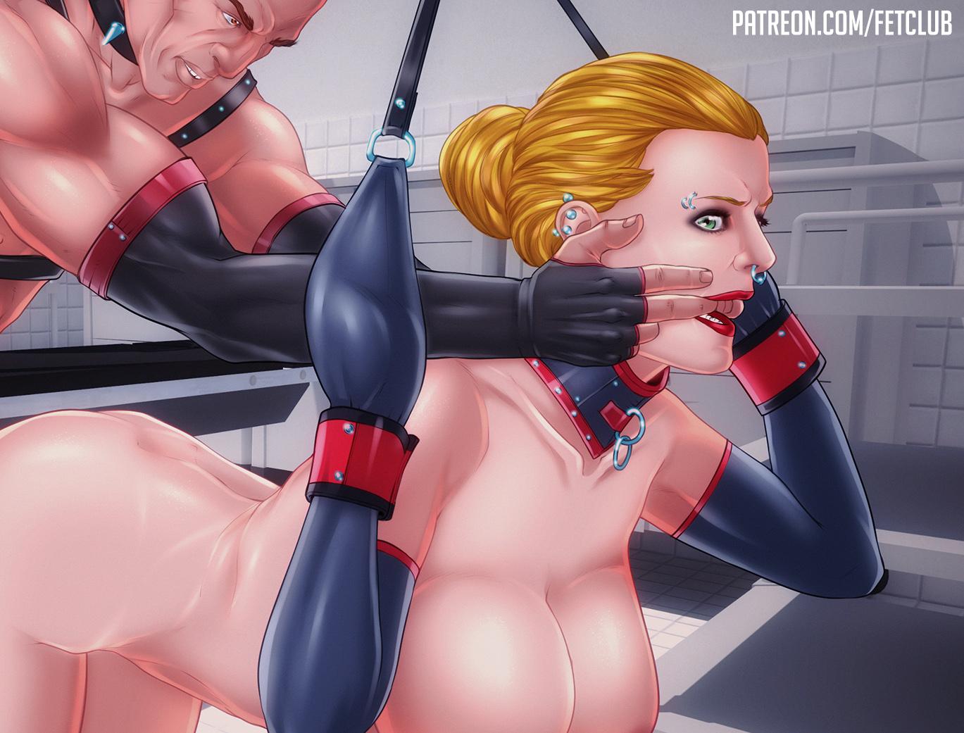 Blond Slave