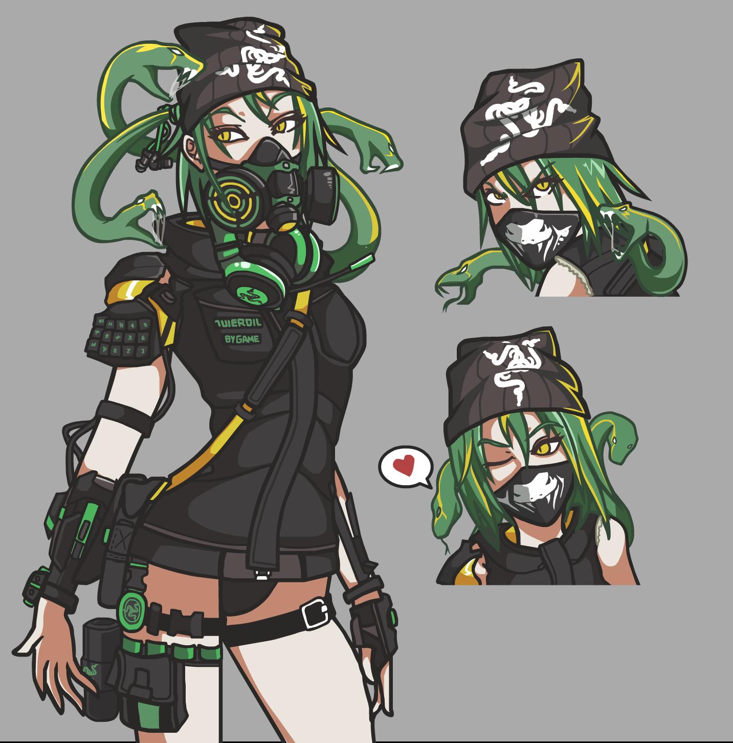 RAZER Gear gal v2