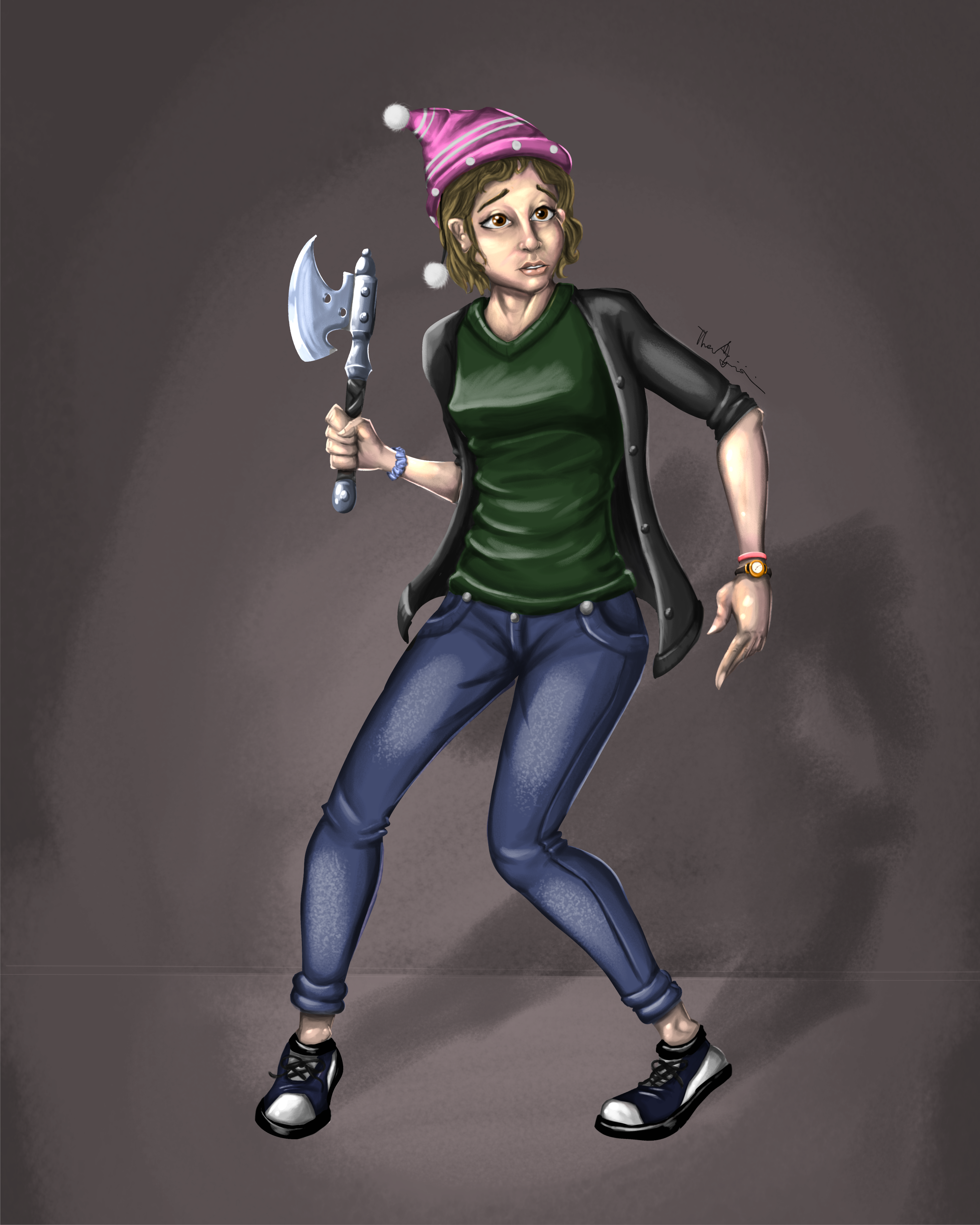 Crissy Character Concept
