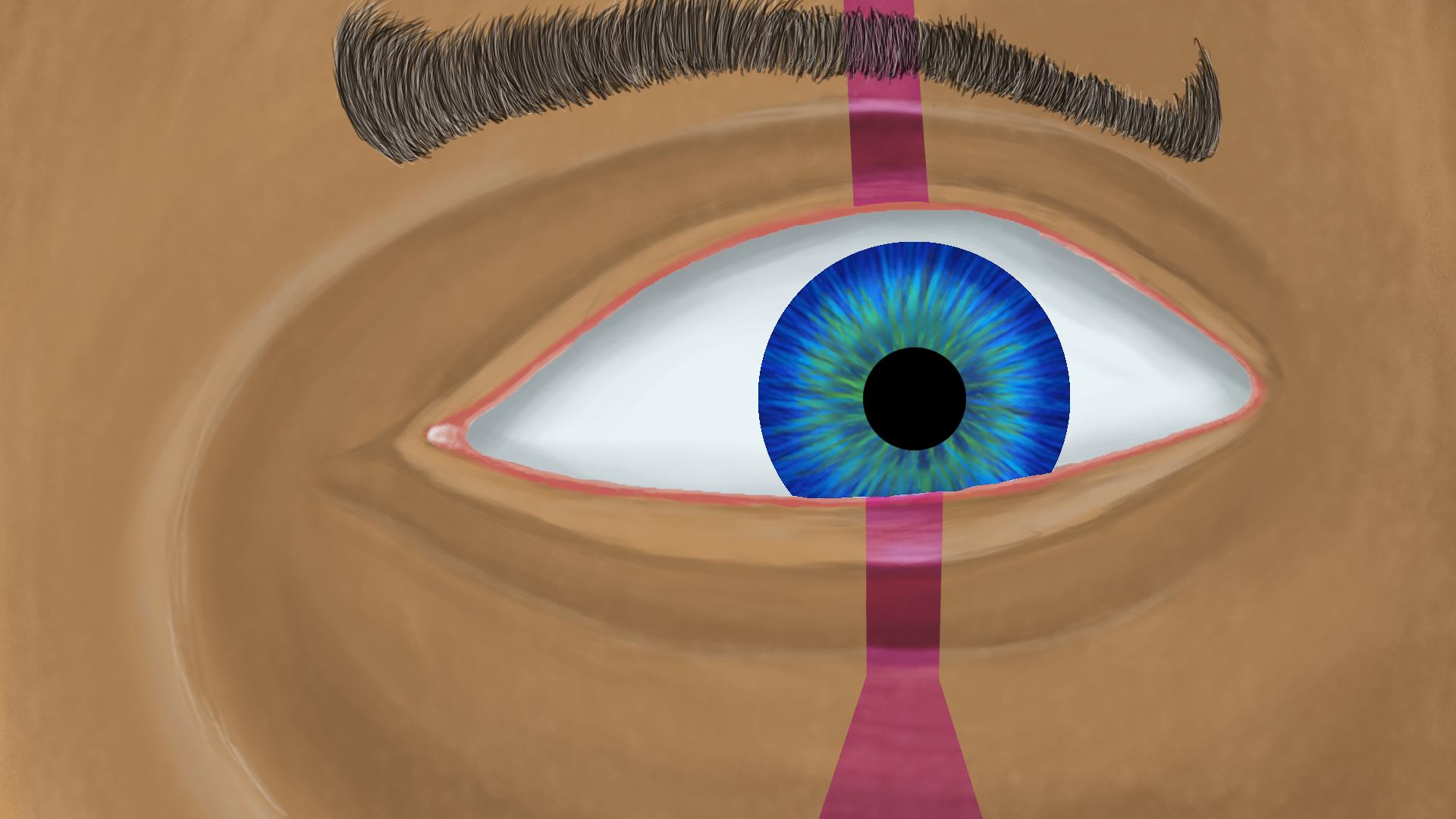 ANA eye - The granny of Overwatch