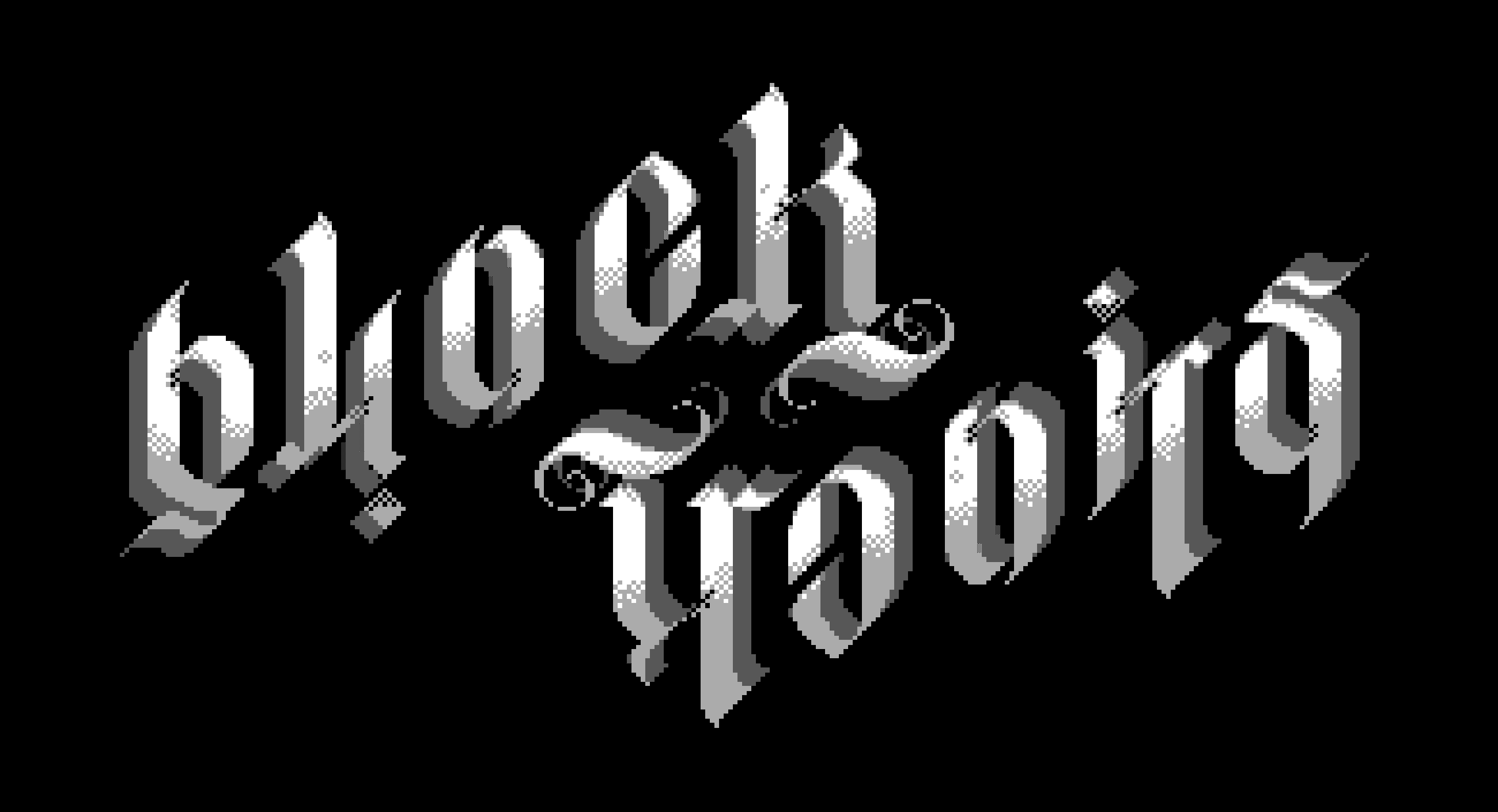 Blocktronics Ambigram