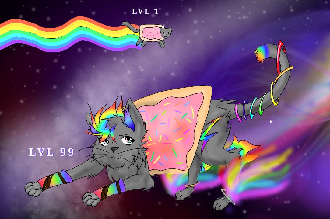 Nyan Cat LVL 99