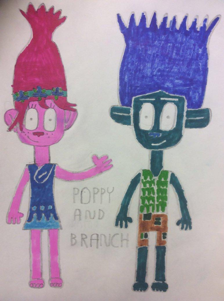 Poppy and Branch