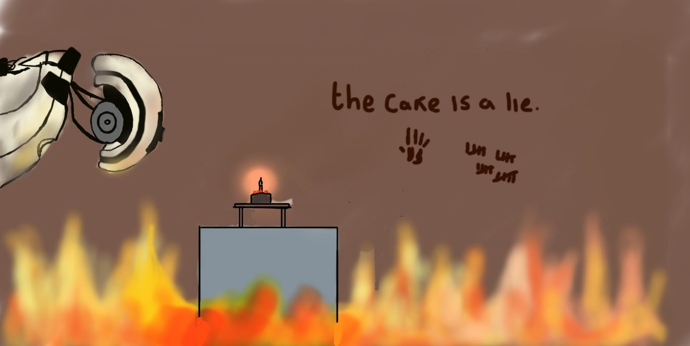 The Cake is a Lie.