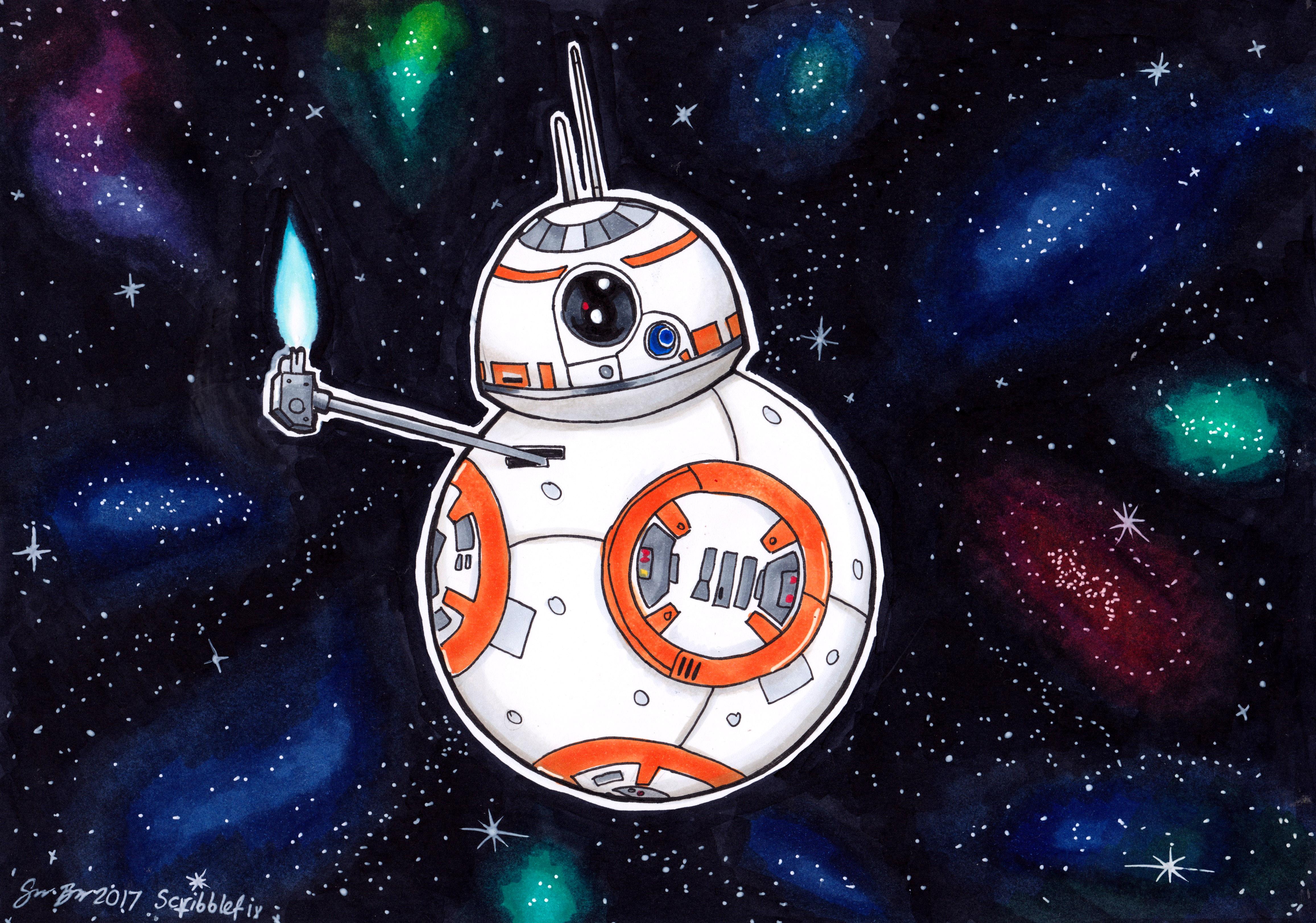 BB8 fan art for STAR WARS DAY!