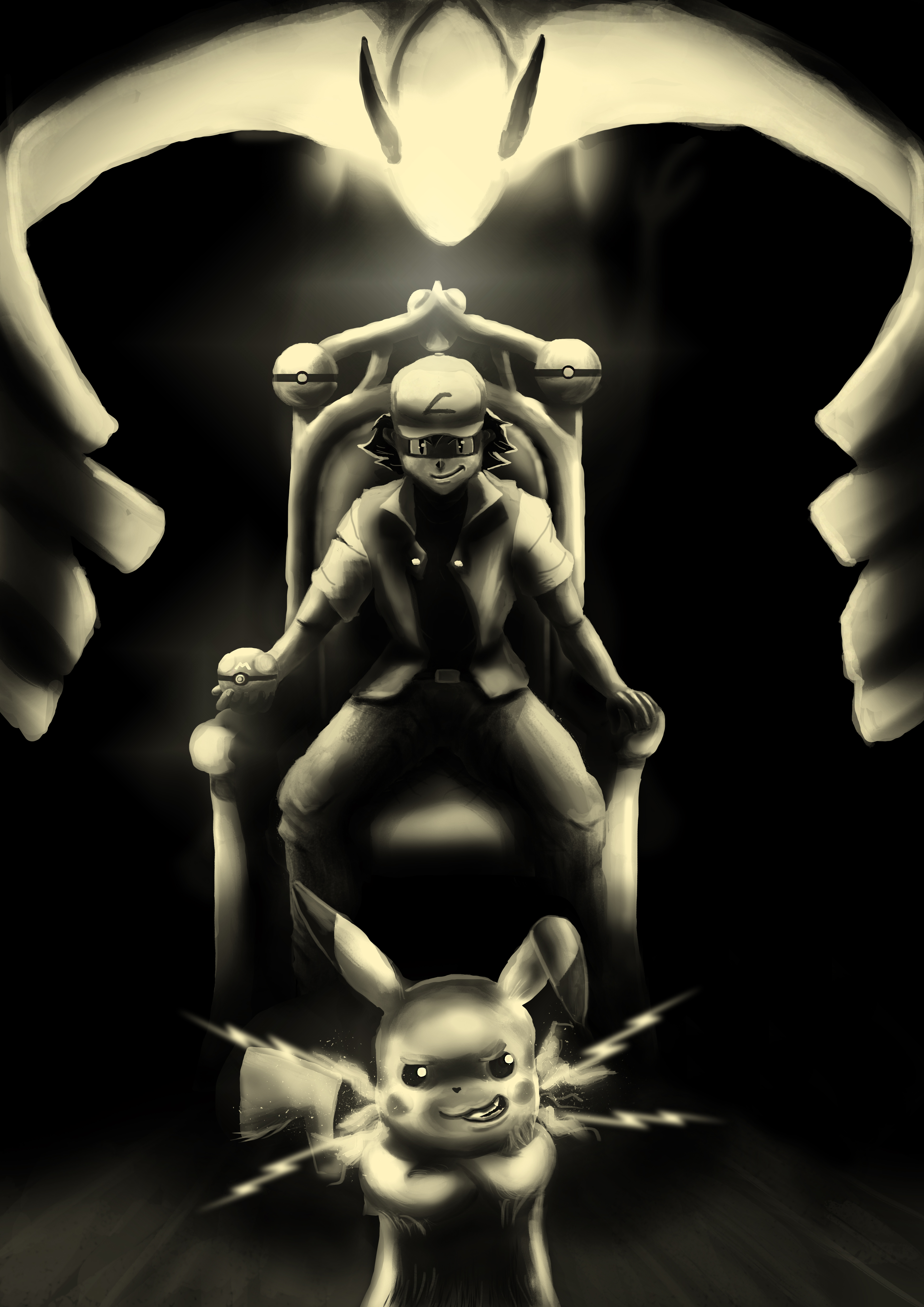 Ash Ketchum, Pokemon master!