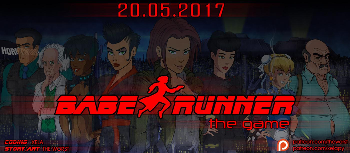 Baber runner. Coming 20.05.2017