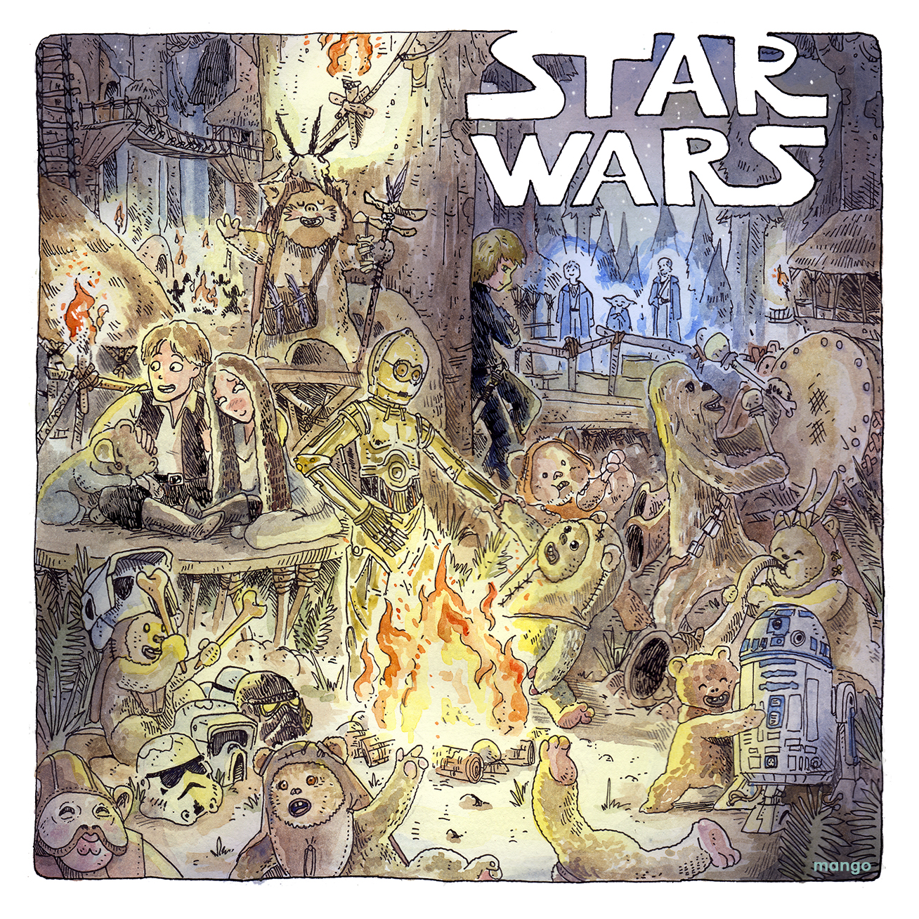 May The 4th Be With You! Ewoks Party ♥