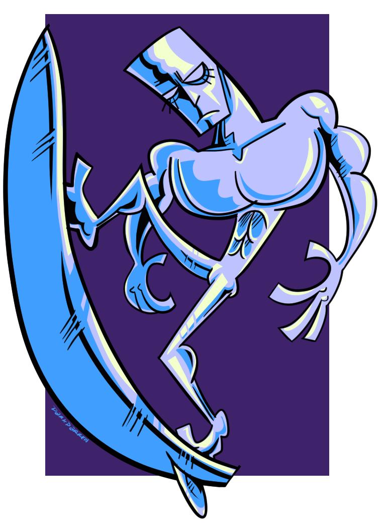 silver surfman