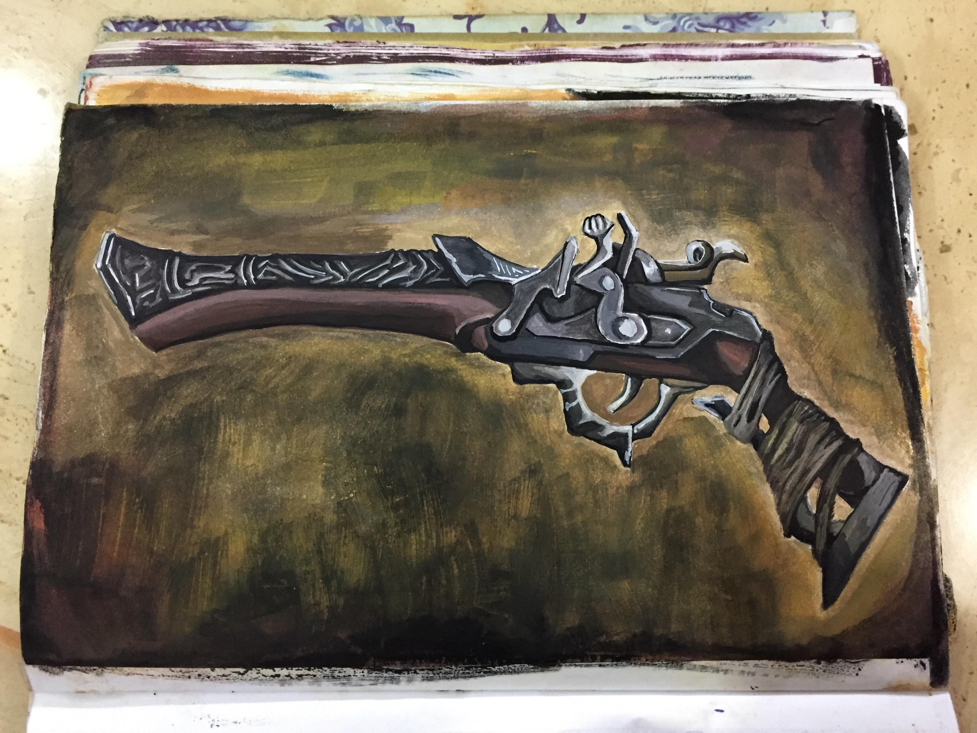Bloodborne : Hunter Pistol